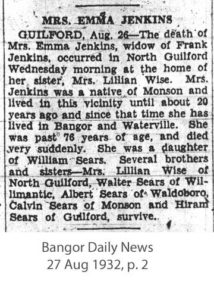 Emily Jenkins Obituary
