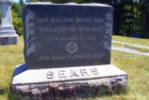 William Sears, Edith, his wife and daughter Emma Jenkins