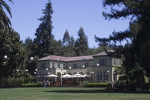 Summer Home of Ernest Abner Goff (1872-1957) in Kenwood, Sonoma, California. Now part of the special tasting rooms at the Chareau St Jean Winery.