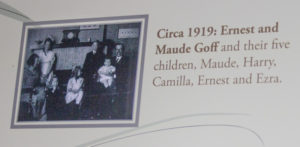 Ernest Abner Goff and family 1919